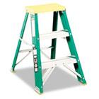 #624 Folding Fiberglass Locking 2-Step Stool, 17w x 22 Spread x 24h DADL321202
