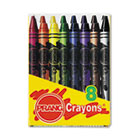 Crayons Made with Soy, 8 Colors/Box DIX00000