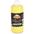 Ready-to-Use Tempera Paint, Yellow, 16 oz DIX21603