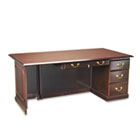 Governor's Series Right Single Pedestal Desk, 72w x 36d x 30h, Mahogany DMI7350580