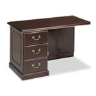 Governor's Executive Left Single Pedestal Return, 48w x 24d x 30h, Mahogany DMI7350589