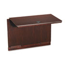 "Governor's Series Executive ""U"" Workstation Bridge, 50w x 24d x 30h, Mahogany DMI735059"