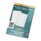 Dated Two Page-per-Month Organizer Refill, January-December, 3-3/4 x 6-3/4, 2015 DTM871291501