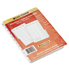 Dated Two Page-per-Month Organizer Refill, January-December, 5-1/2 x 8-1/2, 2015 DTM872291501
