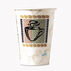 Hot Cups, Paper, 12oz, Coffee Dreams Design, 50/Pack DXE5342CDPK