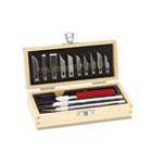 Knife Set, 3 Knives, 10 Blades, Carrying Case EPIX5082