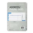Address/Phone Refill for Organizer, A-Z Tabs, 5-1/2 x 8-1/2 FDP27222