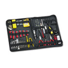 100-Piece Computer Tool Kit in Black Vinyl Zipper Case FEL49107