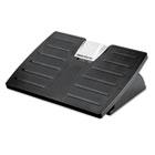 Adjustable Locking Footrest w/Microban, 17-1/2 x 13-1/8 x 4-3/8, Black/Silver FEL8035001