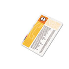 Laminating Pouches, 5 mil, 5 1/2 x 3 1/2, Index Card Size, 25/Pack SWI3202002