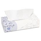 Premium Facial Tissue, Flat Box, White, 100/Box GEP48580BX