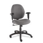 Graham Series Pneumatic Ergo-Tilter Swivel/Tilt Chair, Graphite Fabric GLB31443NBKS111