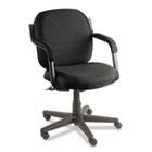 Commerce Series Low-Back Swivel/Tilt Chair, Asphalt Black Fabric GLB4737BKPB09