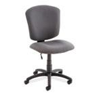 Supra X Series Medium-Back Task Chair, Stone Upholstery Fabric GLB53376BKPB04
