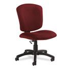 Supra X Series Medium-Back Task Chair, Rhapsody Upholstery Fabric GLB53376BKPB07