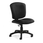 Supra X Series Medium-Back Task Chair, Asphalt Upholstery Fabric GLB53376BKPB09