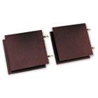Genoa Series Doors For Hutch, 68-5/8w x 18-5/8h, Dark Espresso, 4/Set GLBGDOOR66DES