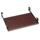 Genoa Series Pullout Keyboard Shelf, 20w x 11d, Mahogany GLBKS20QTM