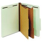 Globe-Weis® Heavy-Duty Pressboard Top Tab Classification Folders