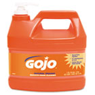 Gojo NATURAL ORANGE Smooth Hand Cleaner, 1gal, Pump Dispenser, Citrus Scent, 4/Carton GOJ094504