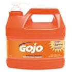 NATURAL ORANGE Smooth Hand Cleaner, 1gal, Pump Dispenser, Citrus Scent, 4/Carton GOJ094504
