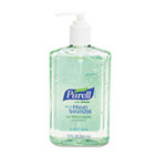 Instant Hand Sanitizer w/Aloe, 12oz Pump Bottle GOJ363912EA