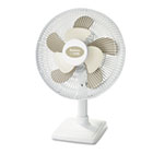 "2Cool 12"" Three Speed Personal Table Fan, Metal, White HLSHAOF613U"