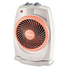 ViziHeat 1500W Power Heater & Fan, Plastic Case, 9 1/4 x 6 3/8 x 13 3/4, White HLSHFH421U
