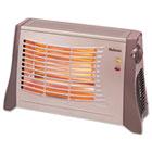 Ribbon Radiant Heater, 17 1/2 x 6 1/2 x 11, Light Brown HLSHRH314