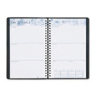 Academic Weekly/Monthly Appointment Book/Planner, 5 x 8, Black, 2015-2016 HOD27502