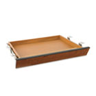 Laminate Angled Center Drawer, 22w x 15-3/8d x 2-1/2h, Bourbon Cherry HON1522H