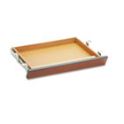 Laminate Angled Center Drawer, 22w x 15-3/8d x 2-1/2h, Henna Cherry HON1522J