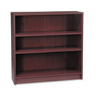 1870 Series Bookcase, Three-Shelf, 36w x 11-1/2d x 36-1/8h, Mahogany HON1872N