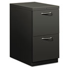 Flagship Mobile File/File Pedestal, Arch Pull, 22-7/8d, Charcoal HON18823AS