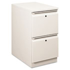Flagship Mobile File/File Pedestal, Full Radius Pull, 22-7/8d, Light Gray HON18823RQ