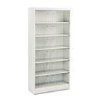 600 Series Steel Open Shelving, Six-Shelf, 36w x 13-3/4d x 75-7/8h, Light Gray HON626NQ