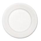"Paper Dinnerware, Plate, 10 1/2"" dia, White, 500/Carton HUHVENTURECT"