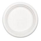 "Paper Dinnerware, Plate, 8 3/4"" dia, White, 500/Carton HUHVERDICTCT"