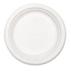 "Classic Paper Plates, 8 3/4"" dia, White, 125/Pack HTMVERDICTPK"