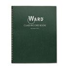 Class Record Book, 38 Students, 9-10 Week Grading, 11 x 8-1/2, Green HUB910L