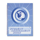 Student Assignment Book, 40 Weeks, 11 x 8-1/2, Laminated Cover HUBSA98