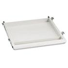 Aspira Utility Drawer, 14w x 14-1/2d x 1-1/2h, Platinum ICE95453