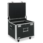 Lock Mobile File Chest Storage Box, Letter/Legal, Black IDEVZ01270