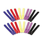 """Cable Straps, 7"""", Assorted Colors, 20 Straps/Pack IVR39920"""