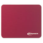 Natural Rubber Mouse Pad, Burgundy IVR52445