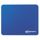 Natural Rubber Mouse Pad, Blue IVR52447