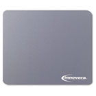 Natural Rubber Mouse Pad, Gray IVR52449