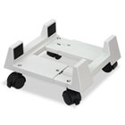 Mobile CPU Stand, 8-3/4w x 10d x 5h, Light Gray IVR54001