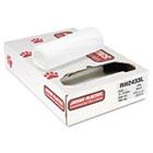 Liners, 15gal, 6mic, 24 x 33, Natural, 50/Roll, 20 Rolls/Carton JAGRH2433L