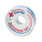 "First Aid Kit Waterproof Tape, 1/2"" x 10yds, White JOJ5050"
